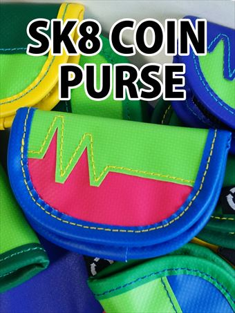 ACT ウォレット『SK8 COIN PURSE』の詳細を見る